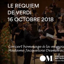 ORCHESTRE METROPOLITAIN - LE REQUIEM DE VERDI