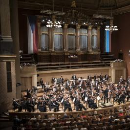 Koncert České filharmonie ke 100. výročí založení Československa