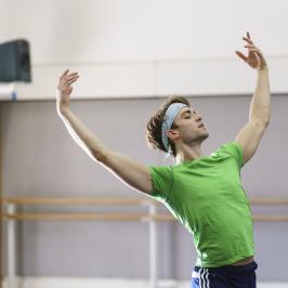 Men at the Barre - Inside the Royal Ballet
