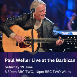 PAUL WELLER LIVE AT THE BARBICAN