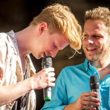 Zleva: Adam Mišík, Jan Onder