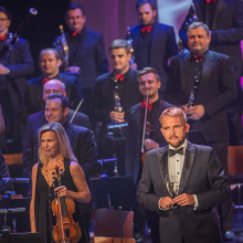 The presenter Libor Bouček