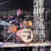 Pavel Plánka – drum performance