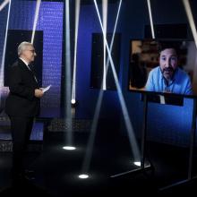 Cena EBU a IMZ za celoživotní dílo, skype call s Matthew Percivalem