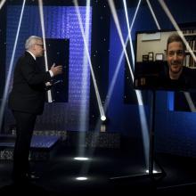 Český křišťál – kategorie Dokumenty o hudbě, tanci a divadle, skype call s Stefanem Demetriou